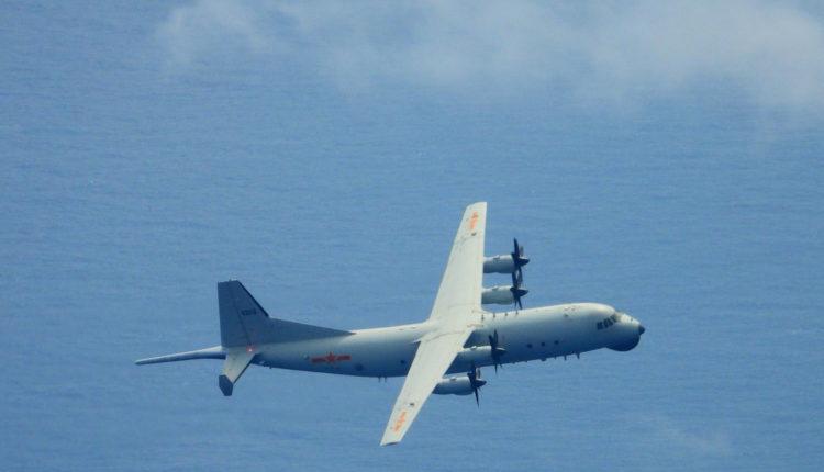 中國很高興美國軍機飛越領空